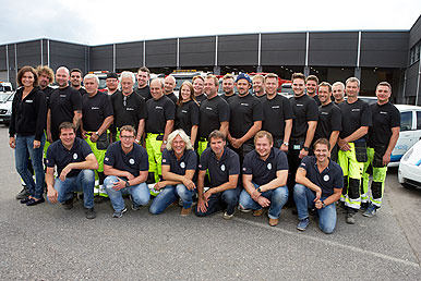 The Gravco crew in Norway!